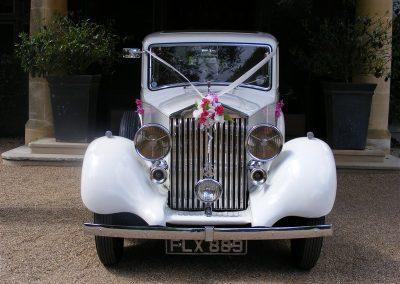 1937 Rolls Royce - Horsham Wedding Car Hire